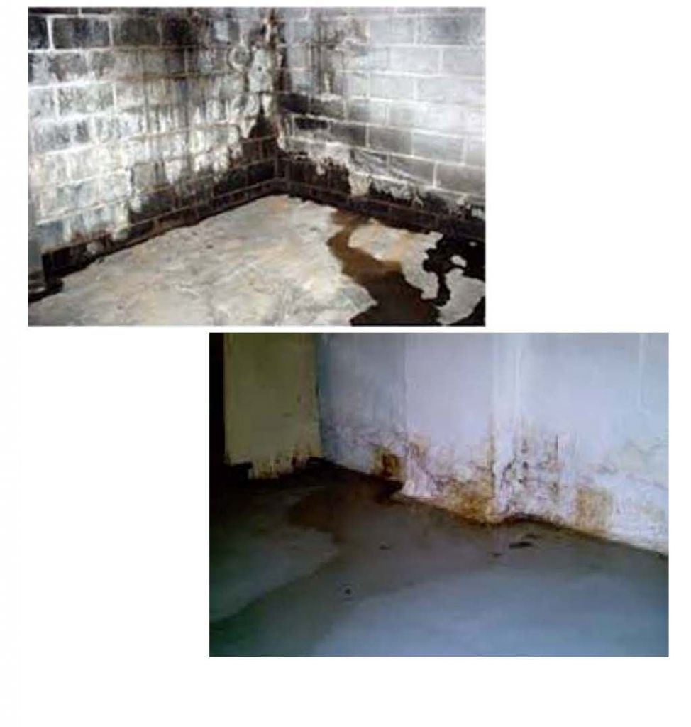 A Basement That Could Have Used Waterproofing Services In Seattle, WA