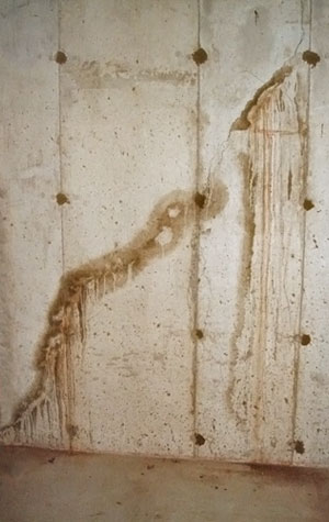 Basement Waterproofing Leaking Wall Cracks